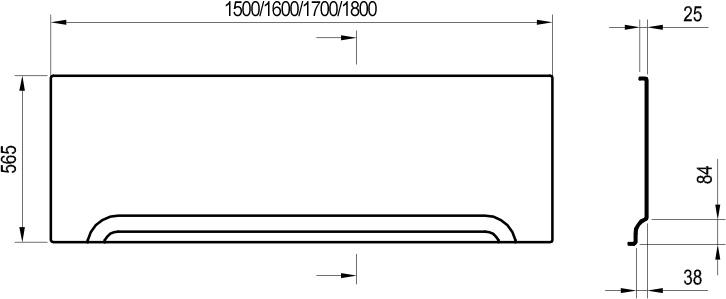 Panoul frontal U170