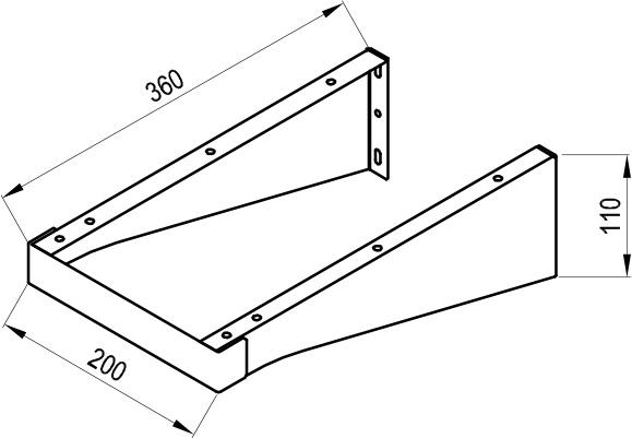 Console pentru blaturile Balance / Comfort 1200